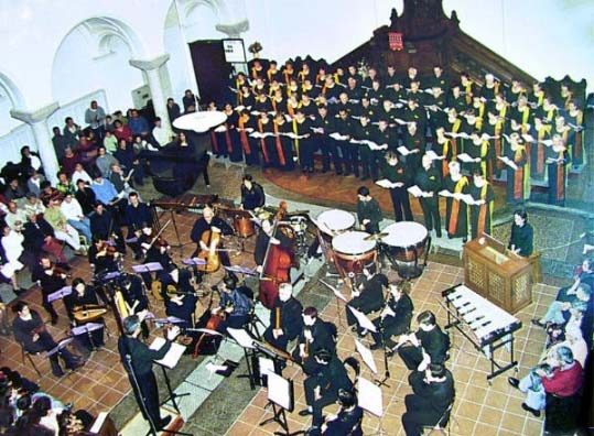 photo chorale et orchestre